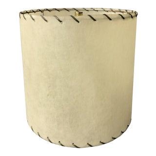 Vintage Mid Century Fiberglass Lamp Shade For Sale