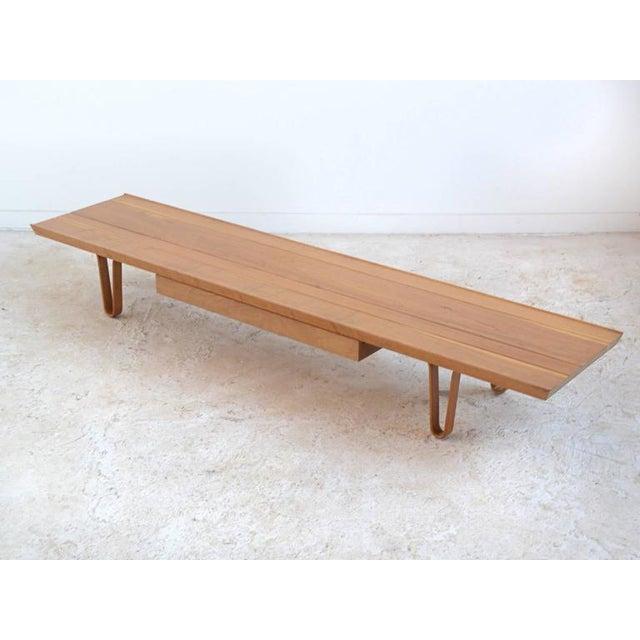 Edward Wormley Long John Bench/ Table by Dunbar - Image 3 of 9