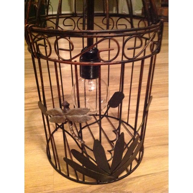 Black & Bronze Birdcage Chandelier - Image 3 of 4