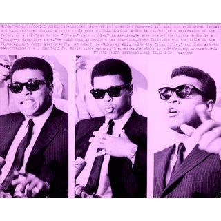 Muhammad Ali Pop Art Warhol Style Collage For Sale