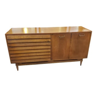 1960's American of Martinsville Dania Low Dresser For Sale