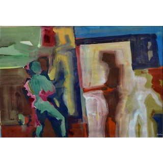 Hanging the Show, Interior by James Coughlin For Sale