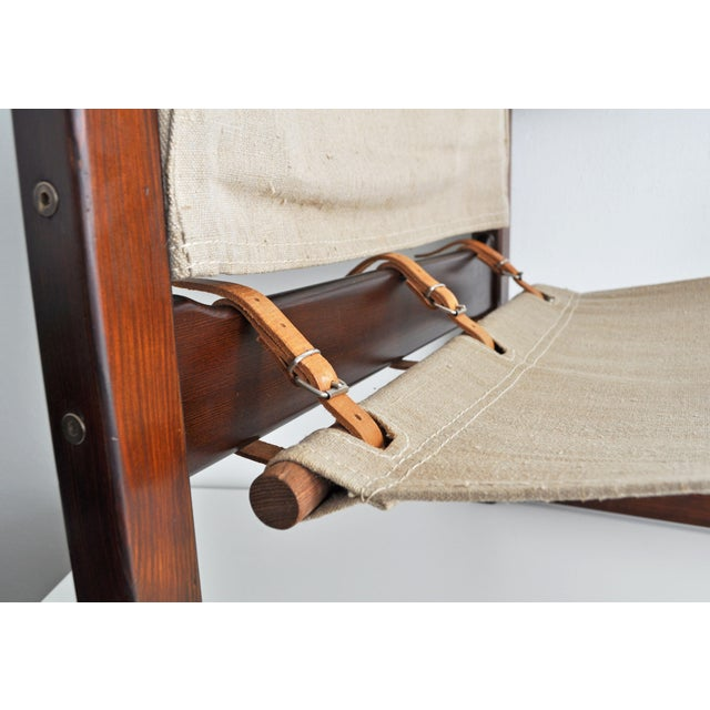 Vintage Safari Style Lounge Chair - Image 7 of 9