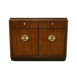 Hickory Manufacturing Co. Asian Inspired Chinoiserie Flip-Top Server / Buffet For Sale