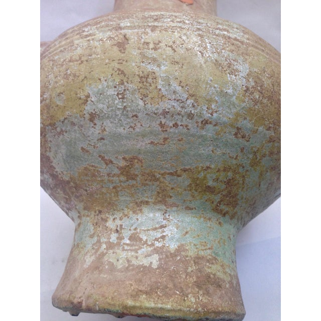 Chinese Han Dynasty Green Glaze Hu Form Vessel For Sale - Image 10 of 11