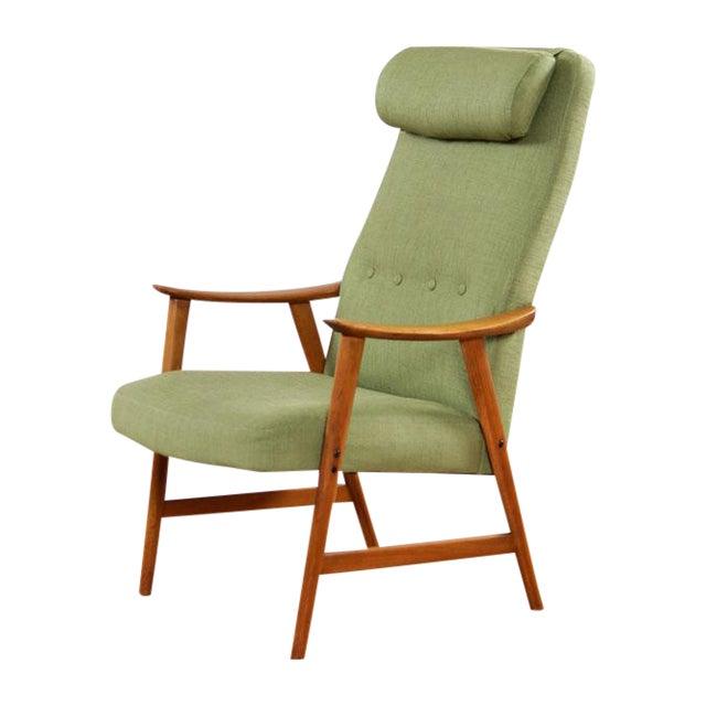 Mid-Century Modern Dokka Mobler Restored Arm Chair - Image 1 of 10