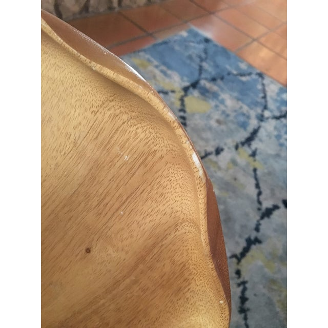 Handmade Wooden Tray - A Pair - Image 8 of 11
