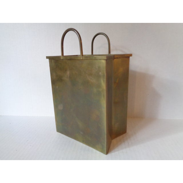 Italian Brass Shopping Bag - Image 2 of 5