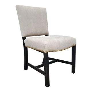 Henredon Furniture Mark D. Sikes Sheffield Upholstered Side Chair For Sale