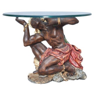 Ithophallic Blackamoor Table For Sale