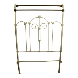 Antique Victorian Twin (Short) Iron & Brass Bed