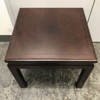 Custom Asian Inspired Square Table Preview