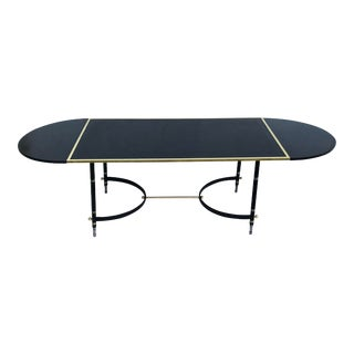 Mid-Century Modern Adnet Dining Table For Sale