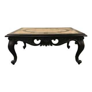 Vintage Maitland-Smith Stone Coffee Table For Sale