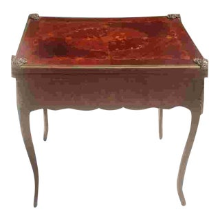 Late 19th Cent. French Game Table For Sale