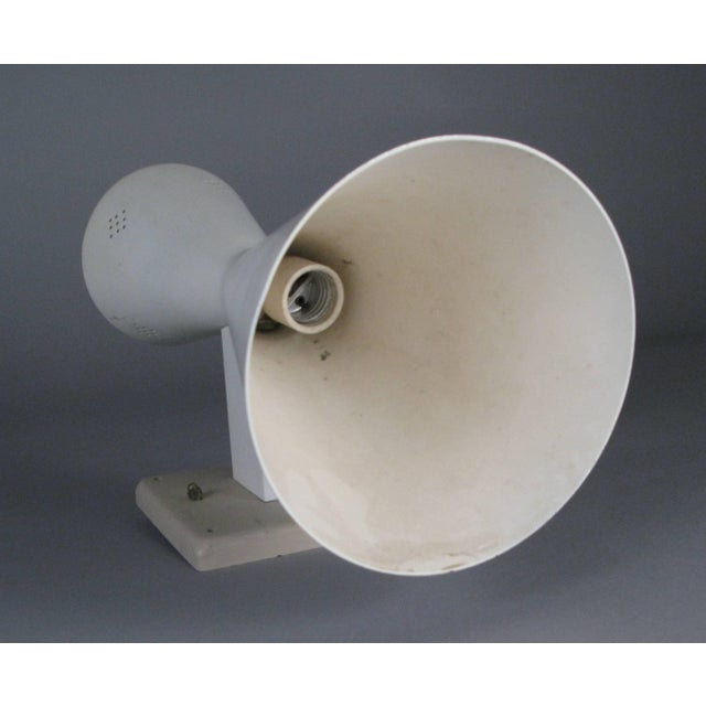 Pair of Midcentury Double Cone Wall Sconces For Sale - Image 4 of 7