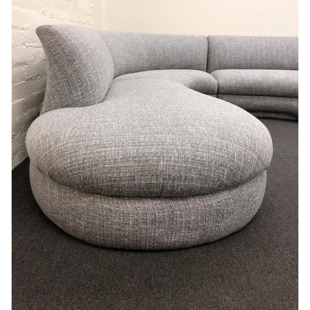 Three-Piece Sectional Sofa For Sale - Image 9 of 10