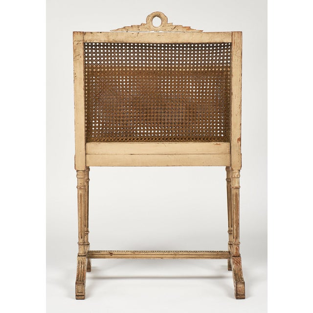 Tan Vintage Louis XV Style Magazine Rack For Sale - Image 8 of 10