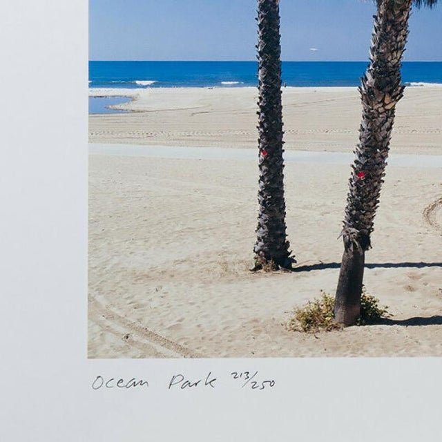 """Contemporary Tim Street Porter """"Ocean Park"""" Lithograph Print Limited 86/250 Signed For Sale - Image 3 of 5"""