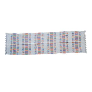 "Hand-Woven Amuzgo ""Rebozo"" Table-Runner For Sale"