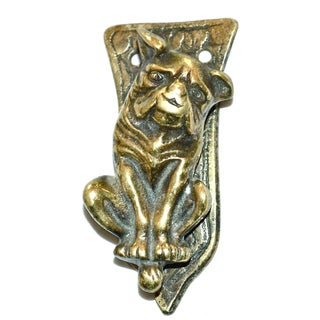 Whimsical Boxer Dog Door Knocker