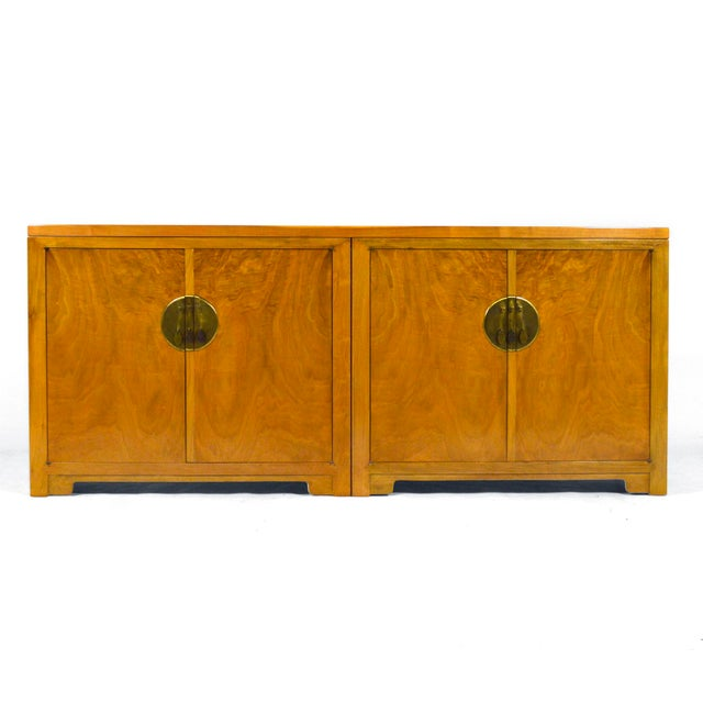 "Mid-Century Modern Michael Taylor ""Far East"" Credenza by Baker For Sale - Image 3 of 11"