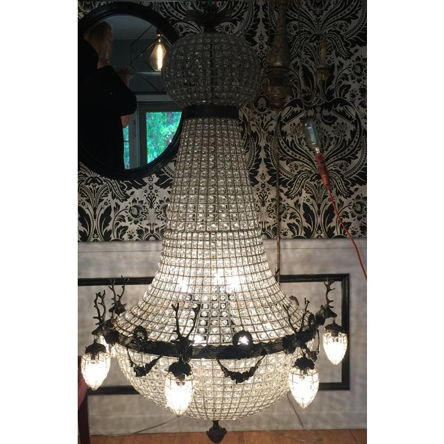 This Is A Gorgeous Chandelier In An Extra Large Rare Size Perfect For The Interior