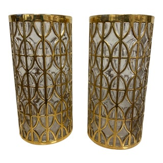Imperial 24 Karat Gold Glasses** - a Pair For Sale