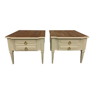 American of Martinsville Side Tables - Pair For Sale