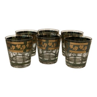 Cera Mid-Century Modern Flat Tumblers - Set of 6 For Sale