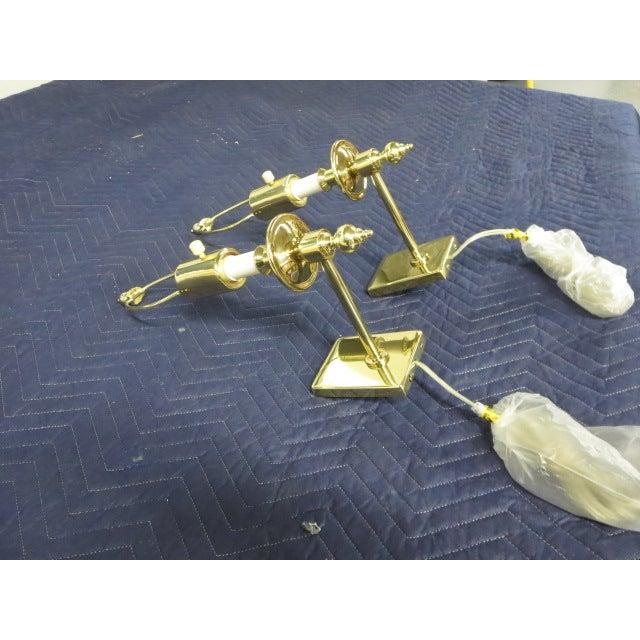 Brass Single Arm Hinson Sconces - 2 - Image 5 of 6