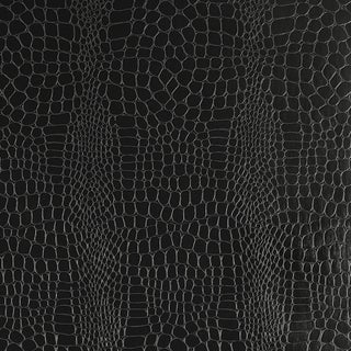 Schumacher Crocodile Wallpaper in Jet For Sale