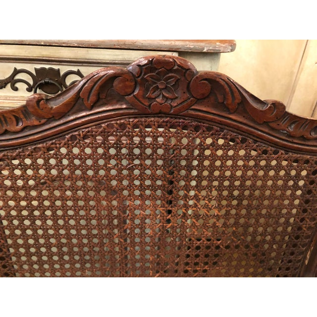 French Caned Chairs - a Pair For Sale In Tampa - Image 6 of 11