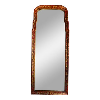 Queen Anne Style Chinoiserie Mirror For Sale