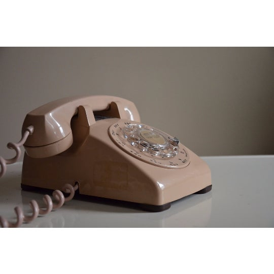 Vintage Cream Touch Tone Telephone - Image 3 of 6