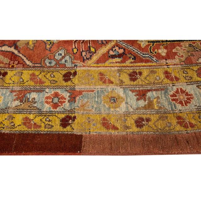"Vintage Persian Tribal Bakshaish Rug, 7'4"" X 9'4"" For Sale - Image 9 of 11"