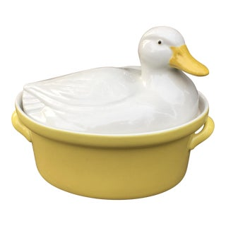 Vintage Carbone Duck Tureen For Sale