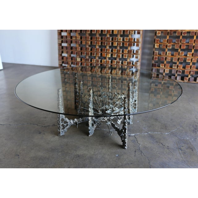 1970s Sculptural Coffee Table by Daniel Gluck For Sale In Los Angeles - Image 6 of 10