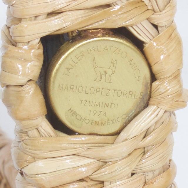 Wicker Mario Torres Monkey Floor Lamp For Sale - Image 7 of 8