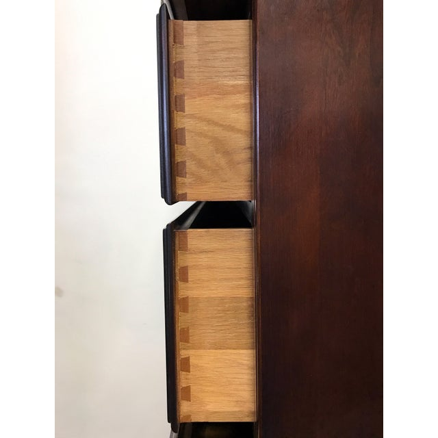 Statton Private Collection Solid Cherry Salem High Chest - Image 6 of 11