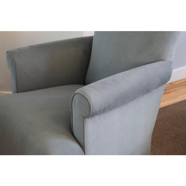 Contemporary Donghia Club Chairs Set 2 For Sale - Image 3 of 13