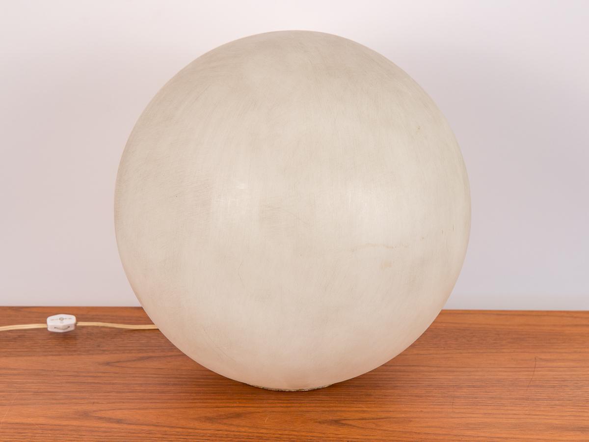 Vintage Acrylic Globe Table Lamp By Paul Mayen   Image 2 Of 8