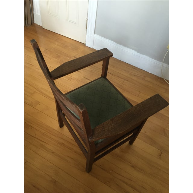 Gustav Stickley Antique Side Chair - Image 3 of 7