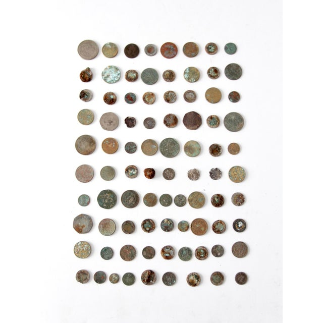 Vintage Oxidized Coin Collection For Sale - Image 11 of 11