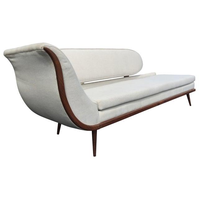 Exquisite Mid Century Modern Sofa Settee by Cimon - Image 2 of 5
