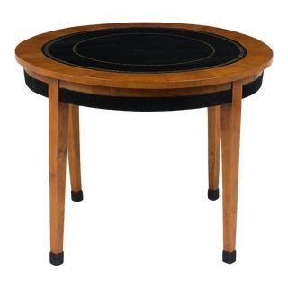 French Empire Round Game Table For Sale