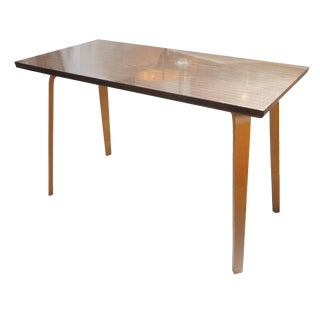 Mid-Century Vintage Thonet Bentwood Dining Table For Sale