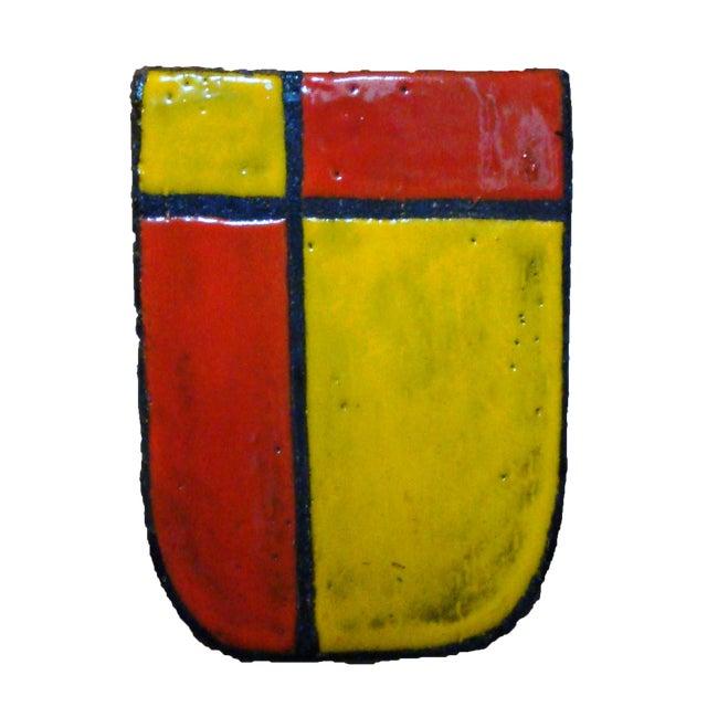 1959 Bitossi Mondrian Vase Chairish