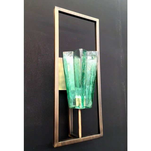 Italian Architectural Star Sconces by Fabio Ltd (8 Available) For Sale - Image 3 of 9