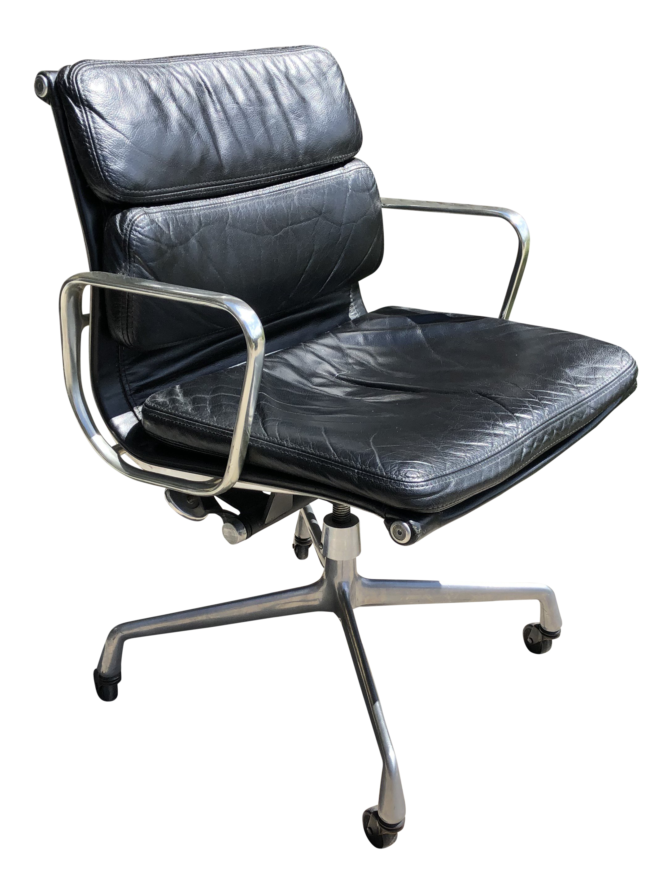the best attitude 47c74 80645 Vintage Mid-Century Charles Eames for Herman Miller Soft Pad Executive  Office Chair